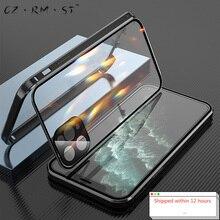 מתאים עבור תפוח של 120,000 מגנטי מלך דו צדדי אבזם iphone11promax נייד טלפון מעטפת זכוכית חדש מתכת כל הכל כלול m