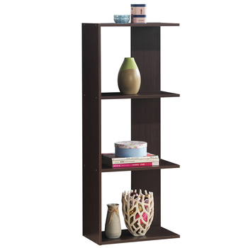 Costway 3-Tier Bookcase Storage Open Shelves Display Unit Room Divider