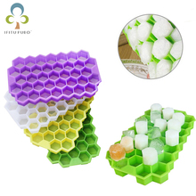 Mold Ice-Tray Ice-Making-Mould Honeycomb Creative Silicone DIY 37-Grid 1pcs Kitchen-Tool-Supplies