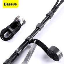 Baseus kablo organizatör tel sarıcı USB kablo yönetimi şarj koruyucu iPhone fare kulaklık kablosu tutucu kablosu koruma