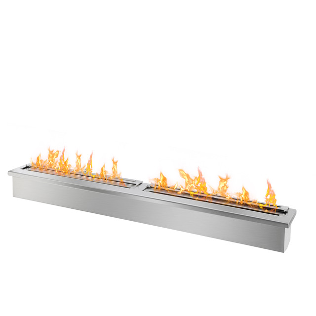 Hot Sale 62 Inch Stainless Steel Alcohol Chimney Bio Ethanol Fire Pit