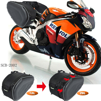 SSPEC-funda Para maletero de motocicleta, Alforjas Para equipaje de fibra de carbono...