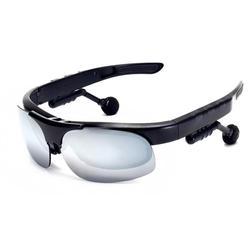 Negro AGD-Y1 Bluetooth inteligente auriculares Bluetooth inalámbrico deporte gafas de sol polarizadas