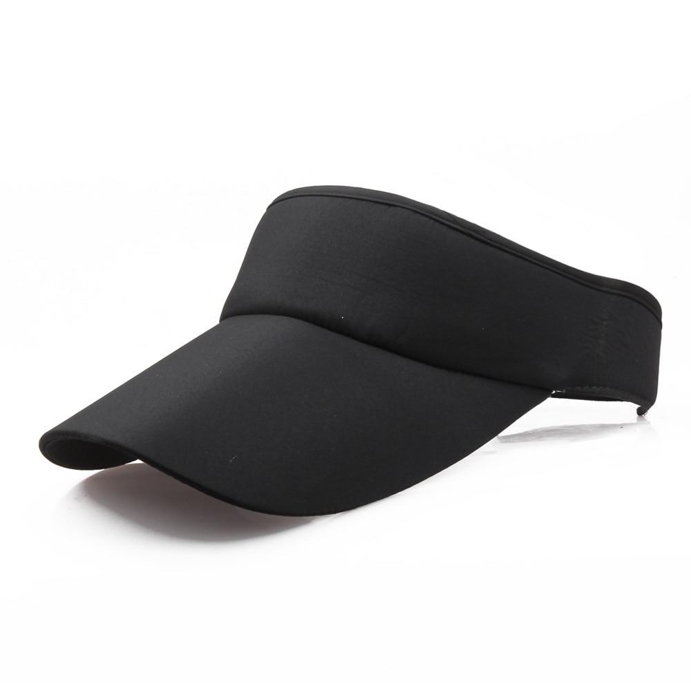 Fashion Adjustable Men Women Summer Sport Headband Classic Sun Sports Visor Hat Cap Summer Female Hat Women's Cap