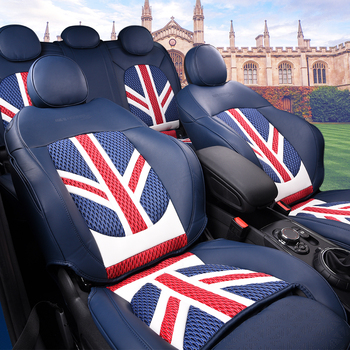 Car Seat Covers For BMW MINI Cooper R56 Wholesale Waterproof Leather Auto Seat Protector Accessories