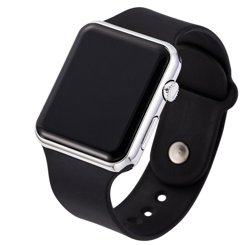 Men Sport Casual LED Watches Men's Digital Clock Man Military Silicone Wrist Watch Clock Army Hodinky Ceasuri Relogio Masculino