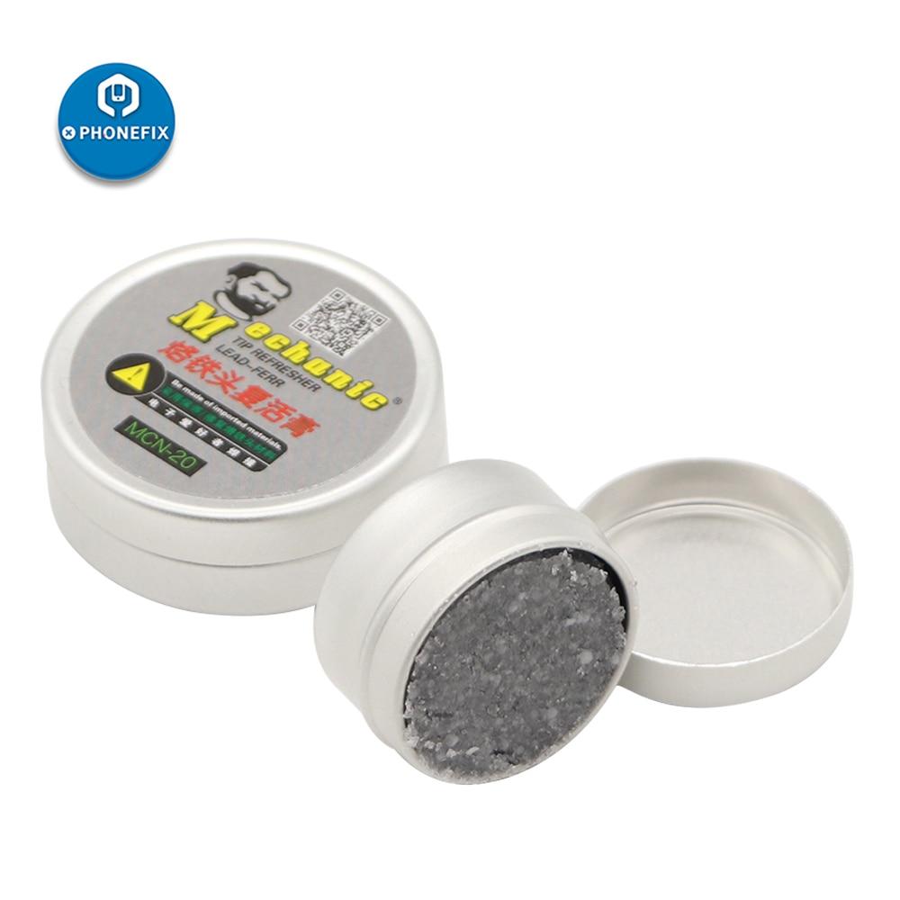 MECHANIC Solder Tip Repair Cream MCN-8 MCN-20 Soldering Iron Tip Refresher Clean Paste Abrasive Resurrection Paste