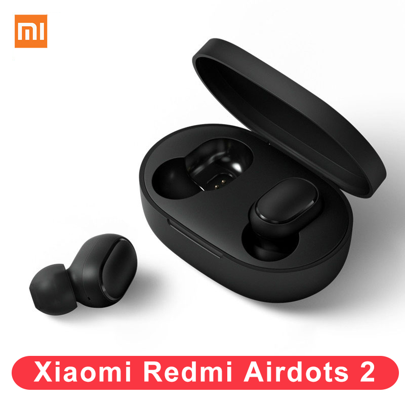 2020 New Xiaomi Redmi Airdots 2 Earphone Bluetooth 5 0 Mi True Wireless Stereo Auto Li TWS Air Dots Headset For iPhone Xiaomi 9