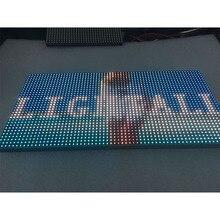 Уличный светодиодный модуль P10, 320x160 мм, 32*16 пикселей, светодиодный дисплей smd hub75 rgb, Светодиодная панель для такси, СВЕТОДИОДНЫЙ матричный знак, Светодиодный настенный экран P4