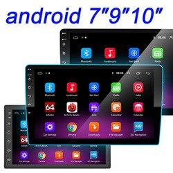 Car Radio 2 din 10″ Android Multimedia Player GPS WIFI Bluetooth Player for Toyota Volkswagen Hyundai Kia Renault Suzuki 1G 2G 4
