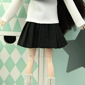 Lalka plisowana spódnica księżniczka moda moda I6E2 tanie i dobre opinie Tkaniny CN (pochodzenie) Dziewczyny Akcesoria dla lalek