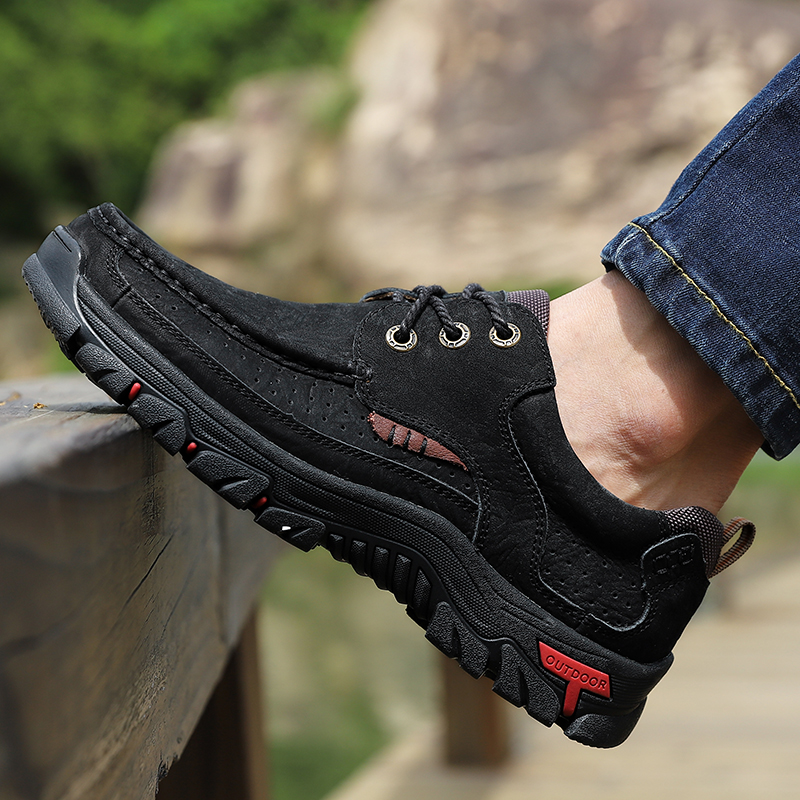 Hea2193c6fca945a1ac73ba63c59883a21 High Quality 2019 New Men Comfortable Sneakers Waterproof Shoes Leather Sneakers Fashion Casual Shoes Male Plus Size 38-48