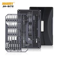 Juego de destornilladores de precisión JM-8172, brocas magnéticas Torx Philips, destornillador ranurado para teléfono móvil, tableta, reloj, herramientas de reparación