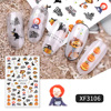 Amazing Halloween Nail Stickers 8 Styles 5