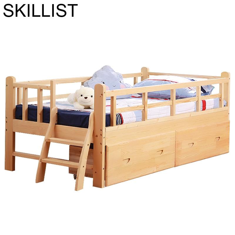 Baby Nest Infantiles Chambre Hochbett De Dormitorio Wooden Bedroom Furniture Cama Infantil Muebles Lit Enfant Children Bed