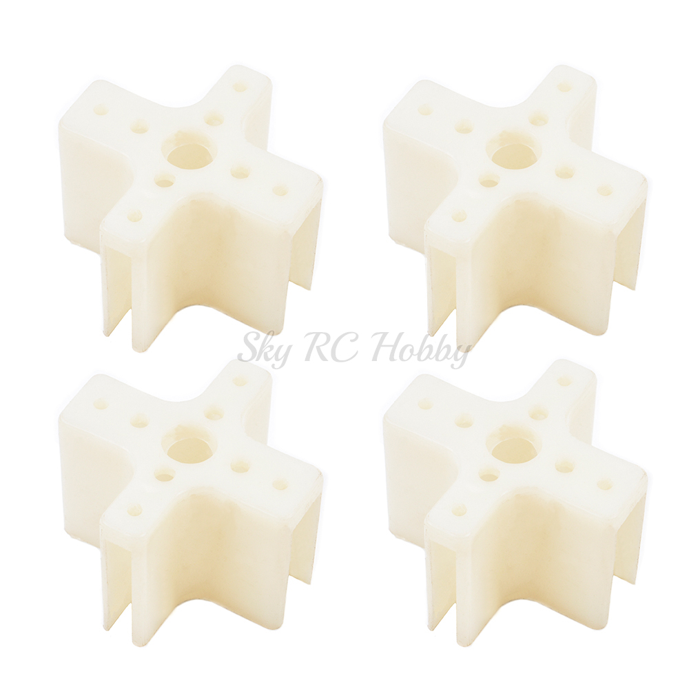 4PCS Plastic <font><b>Motor</b></font> Mount Cross <font><b>Motor</b></font> Base for SunnySky XXD 2208 2212 <font><b>2217</b></font> <font><b>Motor</b></font> KT board / SU27 RC airplane Models part image