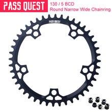 Pass quest 130bcd mtb круглое узкое широкое кольцо/цепное кольцо