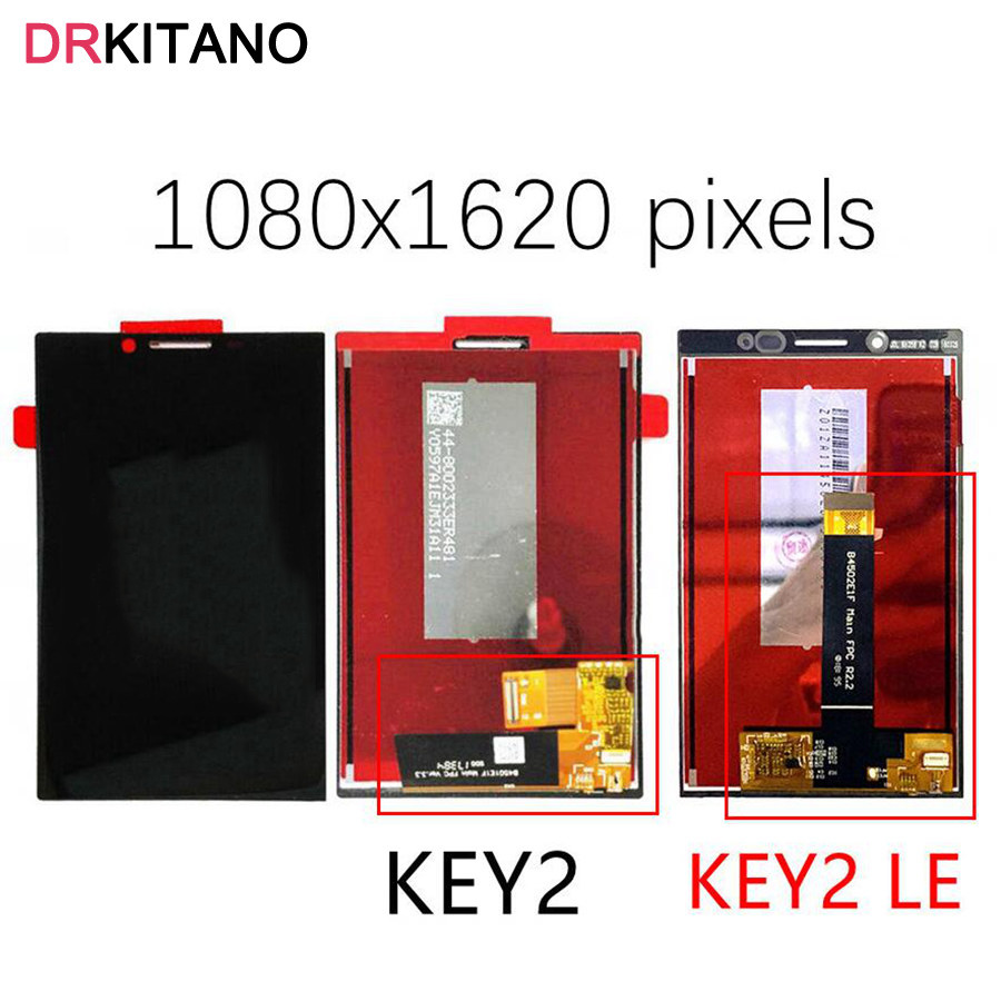 Original LCD For BlackBerry Key2 Display Touch Screen Digitizer For BlackBerry Key2 LE LCD Key 2 KeyTwo Screen Replacement Parts(China)