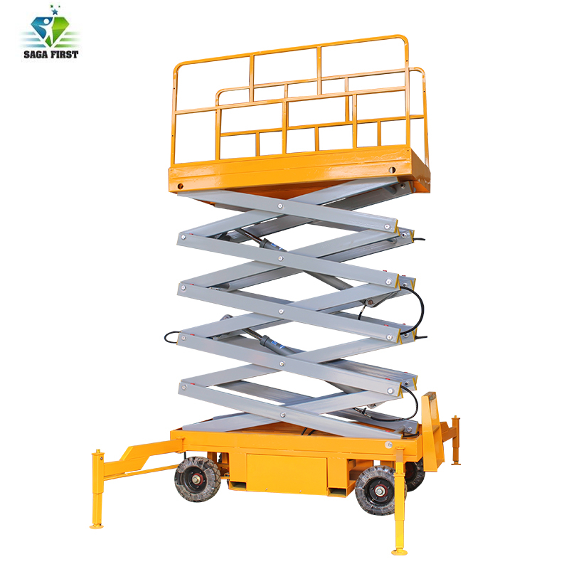 Construction Building Lifting Equipment Small Equipment Scissor Lift