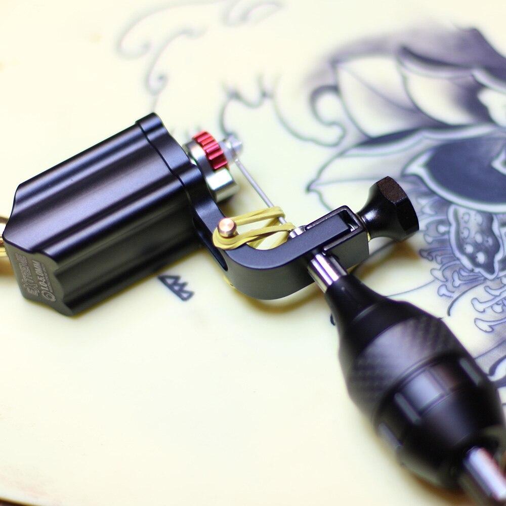 Tattoo Machine Adjustable Stroke Direct Drive Rotary Tattoo Machine RCA Cord For Tattoo Supply Accesories