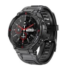 GEJIAN Smart Watch Men smartwatch Mens Full screen touch Blood Pressure Heart Rate Monitor 2021 New Bluetooth Call Music Player