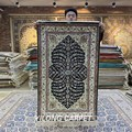YILONG 2.5'x4' Silk Persian Oriental Handmade Tree of Life Prayer Rug (YXR321B)