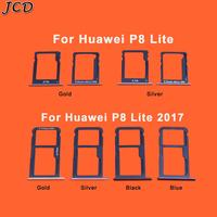 JCD For Huawei P8 Lite/ P8 Lite 2017 SIM Card Micro SD Card Tray Holder Slot Card Slot Holder Adapter Repair Parts|SIM Card Adapters|Cellphones & Telecommunications -