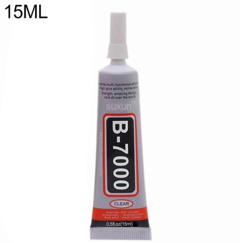 1 Pc 15ml B-7000 Best Multi Purpose Glue Adhesive Epoxy Resin Diy Crafts Glass Touch Screen Cell Phone Super Glue B7000 Nail Gel