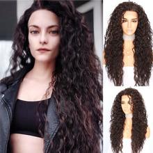 BeautyTown кудрявый Тип Futura термостойкие волосы черный Выделите золото для женщин ежедневный макияж синтетические кружевные Передние Вечерние парики