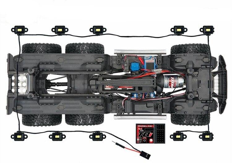 traxxas trx6 g63 6x6 rc carro atualizar pecas 04