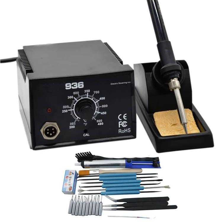 Electric Solder Station Tools With Solder 937 BGA Big Digital Station Soldering Power Quality 600W High Iron Iron LED 936 Solder