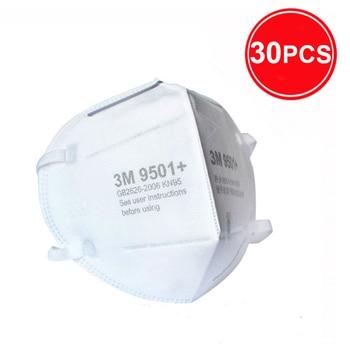 3M 9501 + Maschera Particolato Maschere di Protezione Maschera di Sicurezza Usa E Getta Viso Maschera Sanitari Respiratore Lavoro 3M KN95 Mascarilla 8