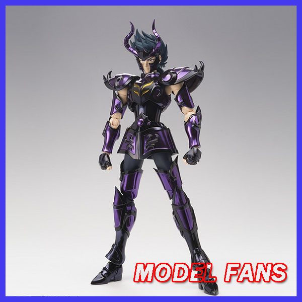MODEL FANS IN-STOCK Chuanshen Cs Saint Seiya Specters Gold Saint EX Capricorn Shura Action Figure Cloth Myth Metal Armor