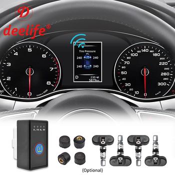 Deelife ( for New QASHQAI X-TRAIL TIIDA TEANA KICKS SYLPHY TERRA ) Tire Pressure monitoring system 4 Sensor TPMS ( for Nissan ) car scratch repair pen auto paint pen pearl white for nissan qashqai x trail sylphy teana sunny tiida livida geniss march