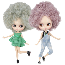 ICY DBS Blyth Doll 1/6 naked doll 30cm toy bjd joint body shiny face curly hair afro hair articulated doll