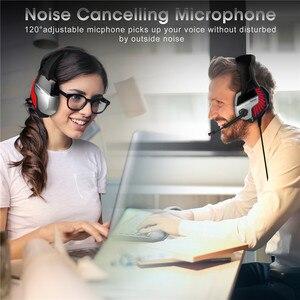 Image 5 - K5 Pro 3,5mm Gaming Kopfhörer 7,1 Virtuelle HiFi Stereo Bass Headset Kopfhörer Mit Geräuschisolation Mikrofon für PUBG PS4 PC Laptop