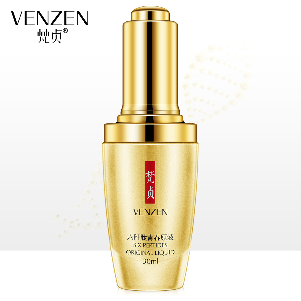 Venzen Repairing Face Serum Shrink Pores Anti Aging Lifting Firming Treatment Repair Pore Facial Essence Skin Care  Whitening