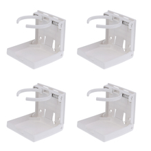 4 Pieces Adjustable Folding Drink Cup Holder For Boat Marine  Car RV dual adjustable folding drink cup holder for boat marine car rv truck suv van car double cup water cup holder