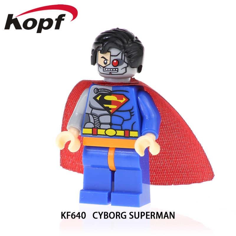 אבני בניין סופר גיבורי מר נס סופרבוי ג 'וקר פעולה דמויות מתנות לבנים בובות דגם צעצועים לילדים KF692