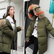 Buy Maternity Winter Coat Keep Warm Long Loose Hooded Coat Fashion Down for Loose Thick Long Coat Windbreaker Warm directly from merchant!