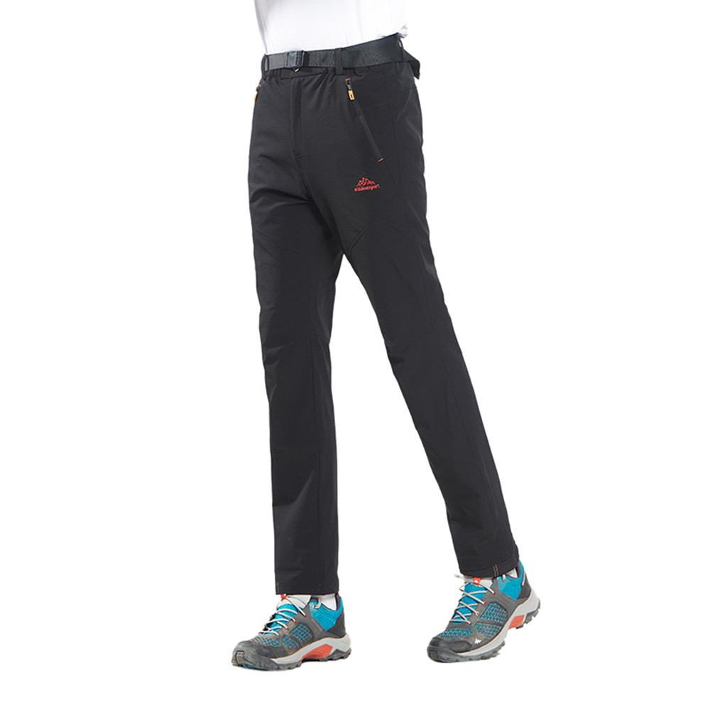 Men Quick-drying Pants Outdoor Camping Hiking Breathable Trousers Detachable FOA Fishing Leisure Trouser Clothing