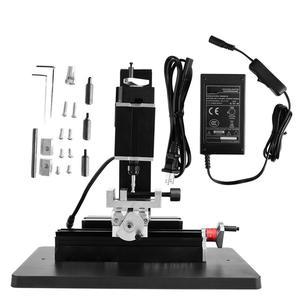 Image 2 - 60W 12000R Mini Phay Gia Công Kim Loại Gỗ Tiện Tự Làm Thu Nhỏ Bình Thường Hướng Dẫn Sử Dụng Máy Y Z Trục Mini Miller