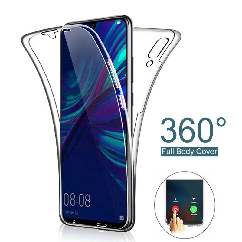 <font><b>360</b></font> Double Soft <font><b>Case</b></font> for <font><b>Huawei</b></font> Y5 Y6 <font><b>Y7</b></font> Prime Y9 <font><b>2019</b></font> P Smart Plus <font><b>2019</b></font> P30 P20 Pro P10 P9 P8 Lite 2017 Honor 10i 20i <font><b>Cases</b></font> image