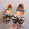 2020 новые детские сандалии; Обувь для маленьких девочек; Нескользящая кожаная обувь принцессы; Летние модные детские сандалии с бантом; Цвет ...