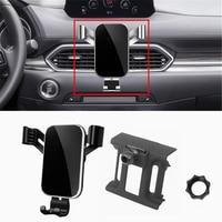 Soporte ajustable para teléfono móvil Mazda CX-5, montaje para ventilación de aire, para Mazda CX5 2019