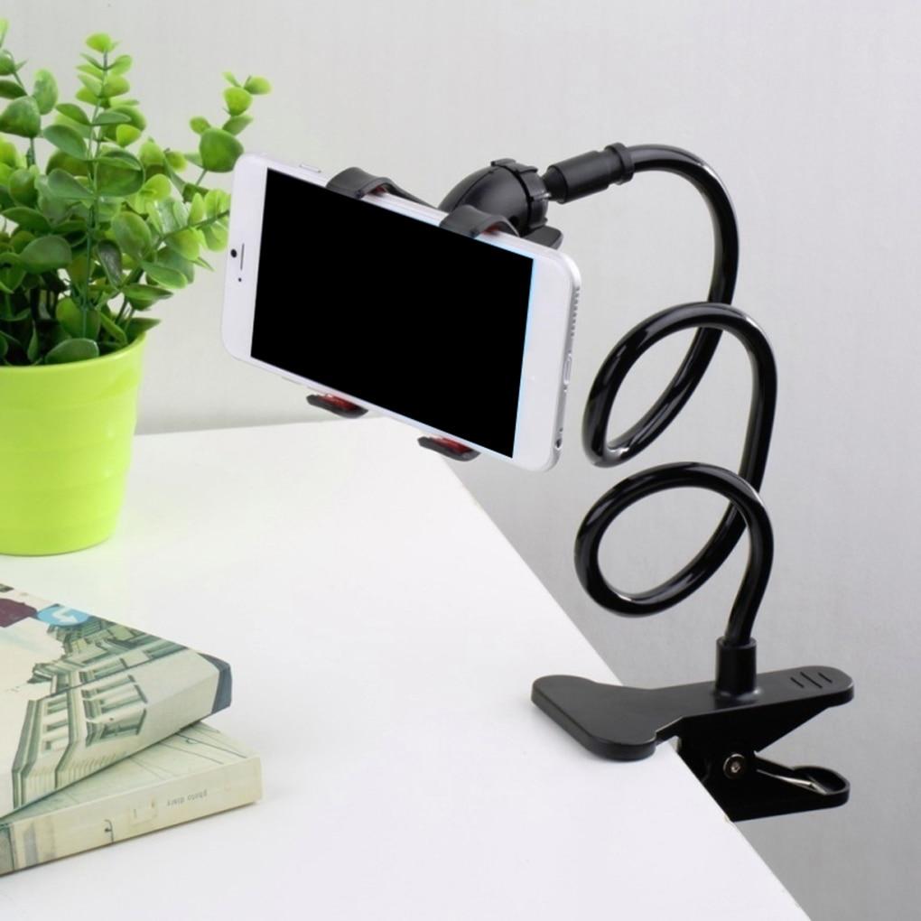 Universal 360 girando flexível preguiçoso suporte do telefone suporte de braço longo para iphone xiaomi telefone titular acessórios do telefone móvel