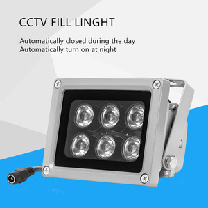 Lampe infrarouge à réseau étanche IP65 | Lampe infrarouge, lampe d'éclairage led 6IR, lampe infrarouge à Vision nocturne pour caméra IP CCTV
