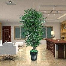 Искусственные деревья 200 см деревья Баньяны, искусственная зелень растения, Комнатные растения, искусственные растения, комнатные украшения из растений