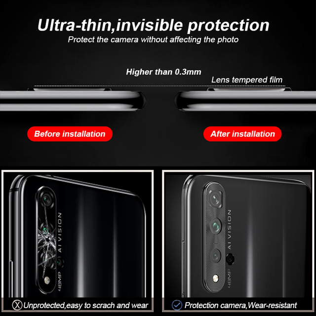 camera lens protector honor 20s 20 pro case metal phone lens protective ring cover for huawei nova 5t p20 p30 pro p40 lite cover 5