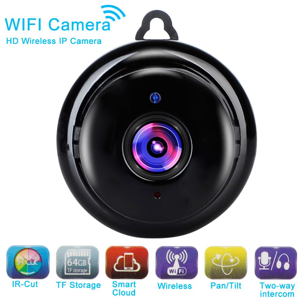 1080P Wireless WiFi CCTV Camera IP Indoor Outdoor HD DV Security Night Cam Home Security Surveillance WiFi Baby Monitor Camera